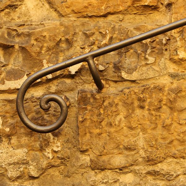 barandilla de hierro